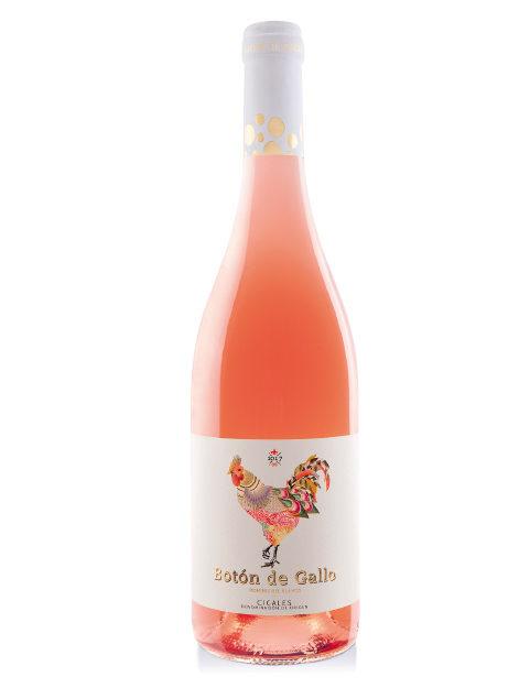 Vino Botón de Gallo Rosé